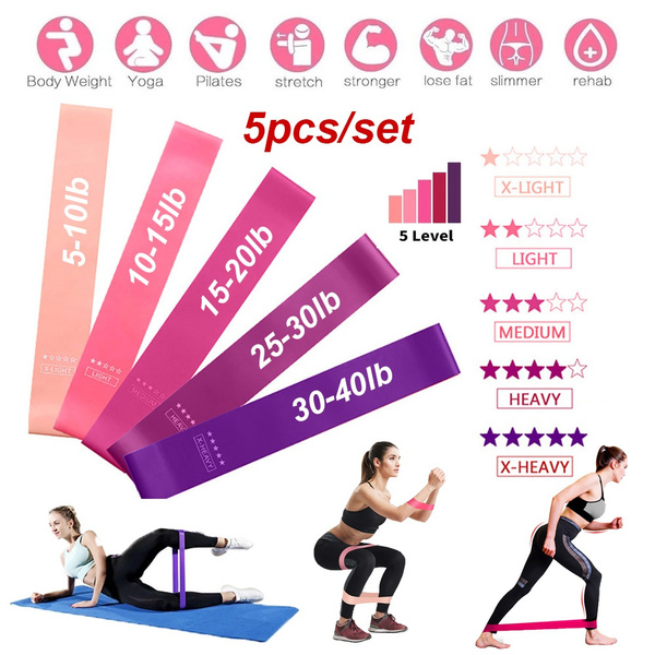 hiptraining, Set, Yoga, Elastic