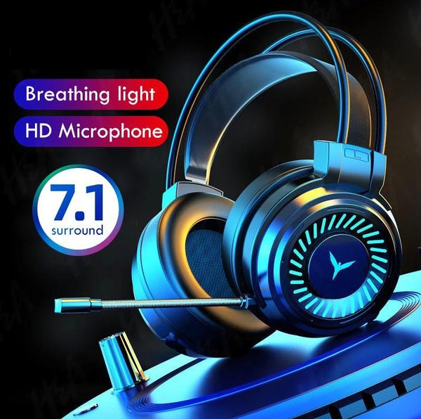 Headset, Video Games, gamingheadphone, Bass