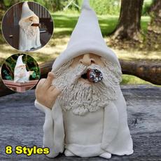 Funny, gardengnome, Yard, gnome