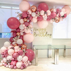 pink, party, Decor, Garland