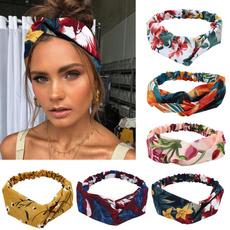 Summer, Floral print, headwear, boho