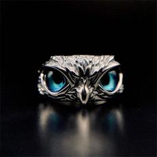 Blues, Owl, boysring, animalring