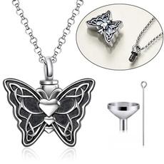 butterfly, Sterling, ashesjewelry, keepsakejewelry