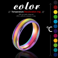 Couple Rings, Steel, Jewelry, Colorful