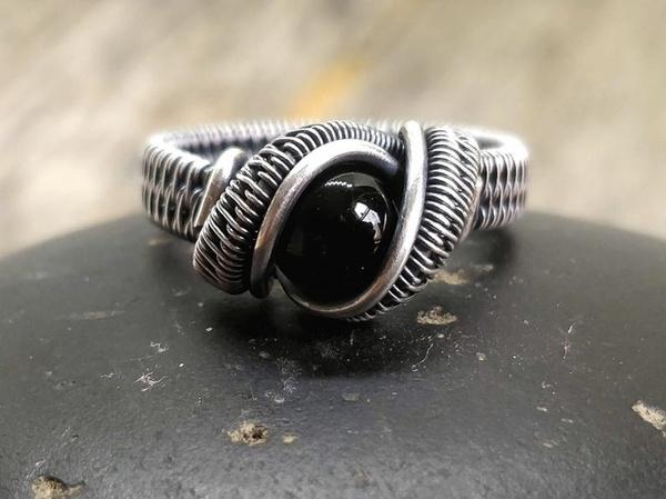 Sterling, labradorjewel, wedding ring, fahsiionjewelry