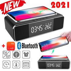 led, deskalarmclock, wirelessphonecharger, Clock