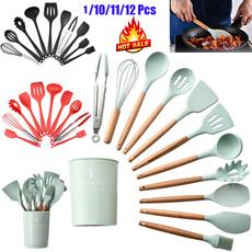 kitchenwarekitchencookware, Kitchen & Dining, Cooking, siliconecookingset