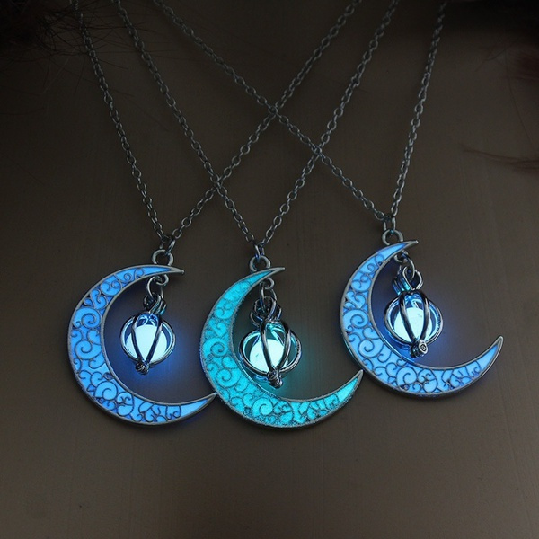 Jewelry, Luminous, plated, Moon