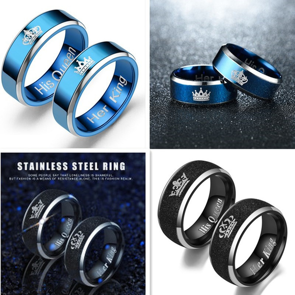 Couple Rings, King, crown, Engagement