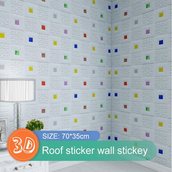 Decor, flowerwall, Home Decor, Stickers