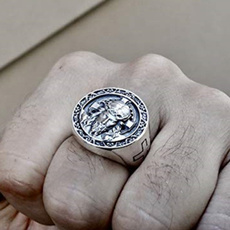 Sterling, crossringsformen, Jewelry, 925 silver rings