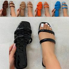 Summer, Head, Sandals, wedge