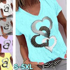shirttopsforwomen, Summer, casualtshirtforwomen, Fashion