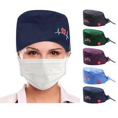 Fashion, nursehat, unisex, surgicalcap