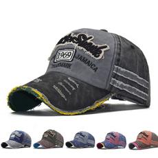 Adjustable Baseball Cap, Outdoor, snapback cap, letter print
