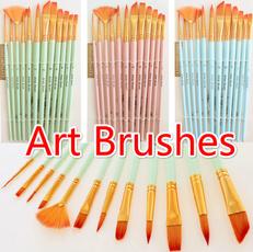 art, watercolorbrush, Paint, watercolor