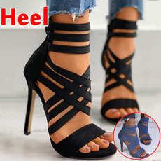 stilettoheel, Summer, Sexy Heels, Women Sandals