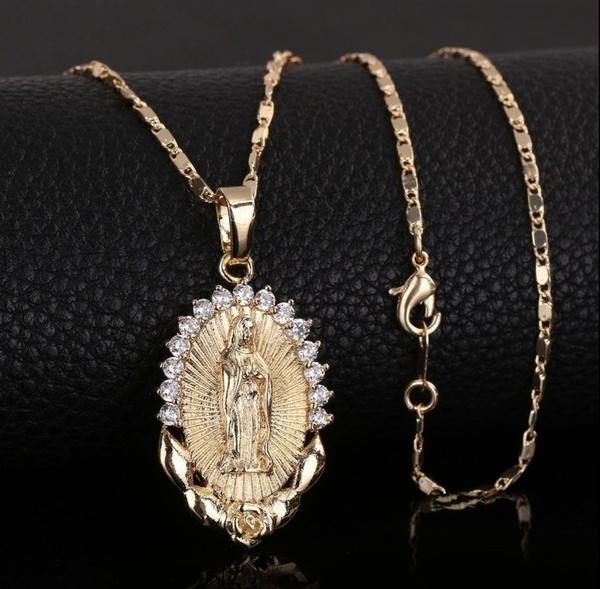 Christian, Jewelry, gold, religion