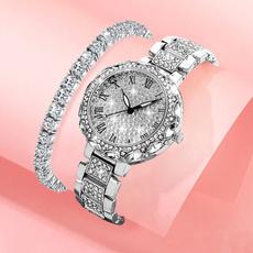 DIAMOND, rosegoldwatch, gold, Quartz Wrist Watch