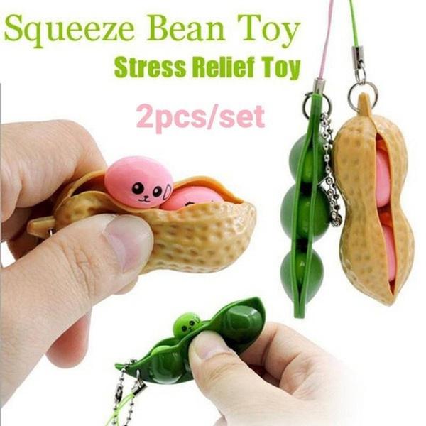 Toy, Key Chain, antistresssquishy, peanut