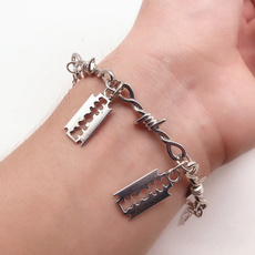 Bracelet, Goth, Jewelry, hiphopbracelet
