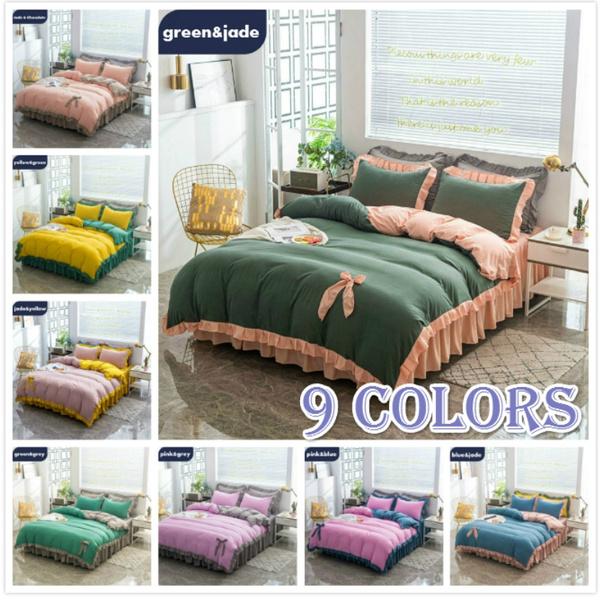 beddingkingsize, cute, quiltcoverandpillowcase, Home Decor