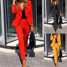 pencil, Two-Piece Suits, Blazer, Office