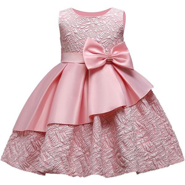 sleeveless, Flowers, flowergirl, Dress