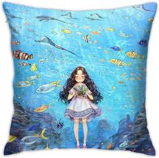 bedthrowpillow, Home Decor, fish, Modern