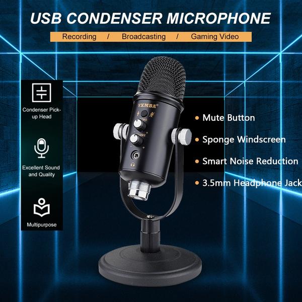 desktopmicrophone, Microphone, portable, button