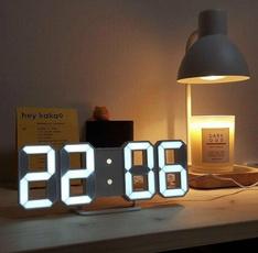 Decor, led, Temperature, Clock