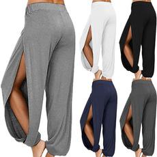 Women Pants, Splitter, harem, Fashion
