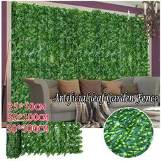 artificialleafhedge, Decor, artificialplant, Garden
