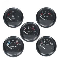 oiltemperaturesensor, oilpressuresender, automobile, voltgauge