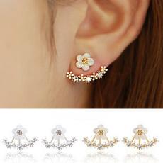 Fashion, Jewelry, gold, Stud Earring