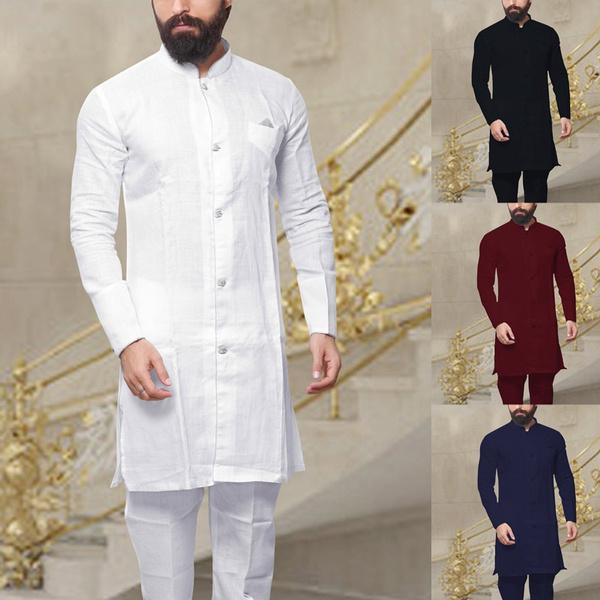 Plus Size, Long Sleeve, Tops, Muslim