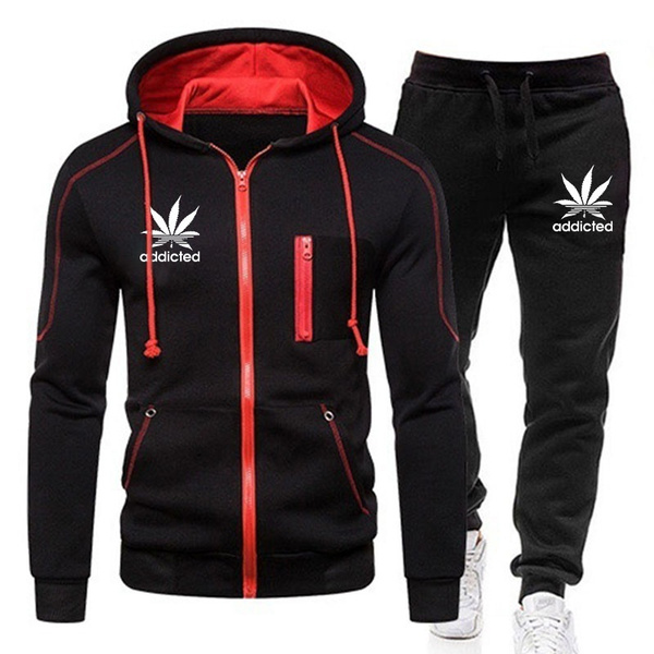 Two-Piece Suits, sweater coat, hoody tracksuit, pants