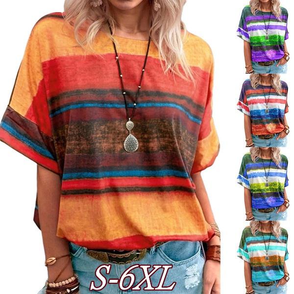 summer t-shirts, Necks, tiedyetshirt, topsamptshirt