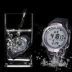 Outdoor, led, Waterproof Watch, Waterproof