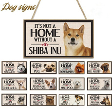 Funny, Home Decor, dogplaque, Home & Living