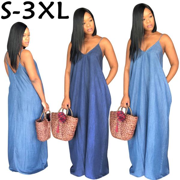Blues, Plus Size, Summer, plus size dress