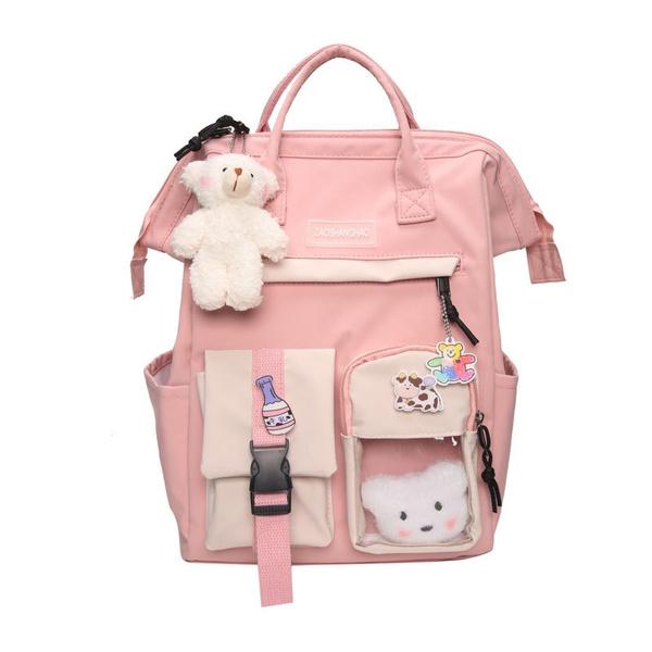 high school bags for girls, School, campusbag, Shoulder Bags