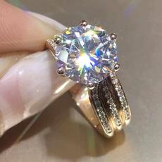 DIAMOND, engagementweddingring, Jewelry, 925 silver rings