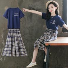 childrenswear, Summer, Fashion, girlstshirtskirtsuit