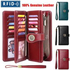 longwalletforwomen, clutch bag, Capacity, leather
