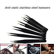 Steel, Nails, Jewelry, stainless steel tweezer