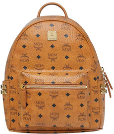 mcm, Stud, Backpacks, Side