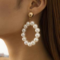 Dangle Earring, Jewelry, Pearl Earrings, pearls