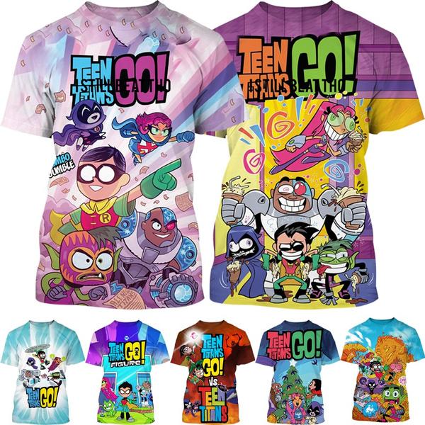 Boy, Fashion, Shirt, teentitansgo