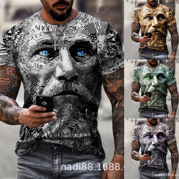 summer t-shirts, Shirt, men clothing, Men